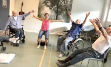 Kreativ dans bejakar det friska hos äldre patienter