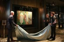 Gjemt Munch-verk kan nå sees på Clarion Hotel Oslo i Bjørvika