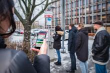 Allt fler parkerar via mobiltelefonen i Uddevalla