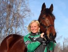 Remy Nilson och Malin Löfgren på politikerträff