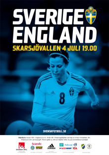 Se svenska damlandslaget spela i Ljungskile