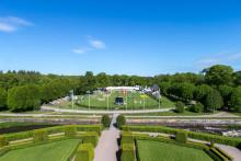 100 tävlingstimmar i den berömda Slottsparken