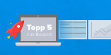 5 viktiga försäljningsdashboards som kan öka omsättningen