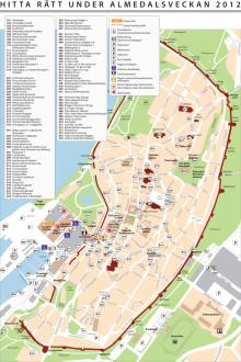Karta Almedalen 2012