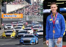 Simon Larsson klar för Audi Sport TT Cup i Tyskland