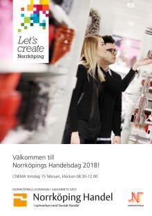 Program, Norrköpings Handelsdag 2018