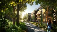 Tillväxt för framtiden - nu börjar Täby park byggas