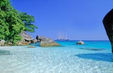 Verdens fem bedste strande. Oplev dem med Star Clippers