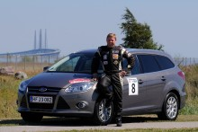 FORD STILLER OP I ORESUND RALLY