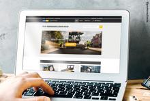 Responsive, klar und mit Shop-Funktion - Swecon Baumaschinen GmbH mit neuem Internetauftritt und Webshop für Mietmaschinen