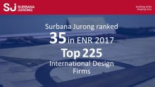 Surbana Jurong is No. 35 on ENR 2017 Top 225 International Design Firms list!