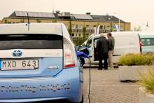 Malmö stad satsar på elbilar och tjänstecyklar på fordonsmässa