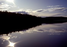 ​Northern lakes act as CO2 chimneys in a warming world