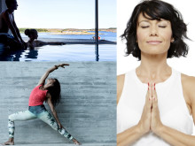 Hälsa och njutning under Yoga Fusion