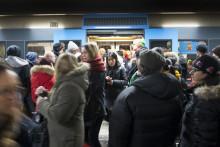 Tunnelbanan Stockholmarnas livlina i snökaoset