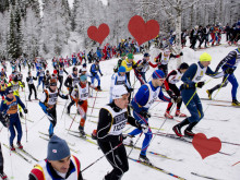 Kärleksstopp i årets Vasalopp - Vigselförrättare på plats i spåret