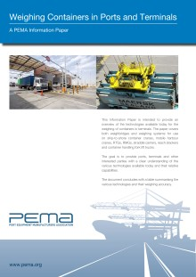 PEMA and the future of container weighing