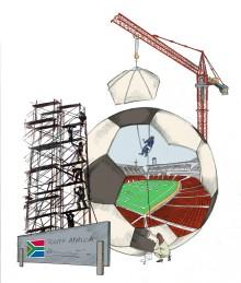 Sydafrika och fotbolls-VM:s ekonomiska påverkan