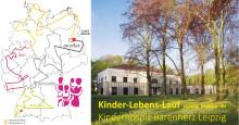 Kinder-Lebens-Lauf macht Station im Kinderhospiz Bärenherz