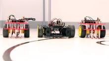 Självkörande Formel 1-bilar i högskolans nya robotrace