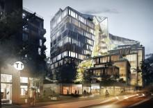 BSK Arkitekter och Veidekke utvecklar ny stadsdel i Solna