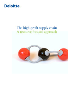 The High Profit Supply Chain