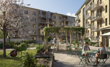 Pressinbjudan: Första spadtaget för 47 bostadsrätter i Brf Guldpennan
