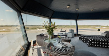 Ramptornet på Arlanda blir världsunik lägenhet