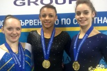 British junior gymnasts complete historic European Championships