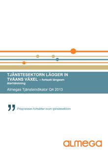 Almegas Tjänsteindikator 2013 Q4