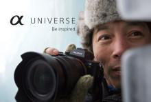Sony lance α-Universe au Benelux