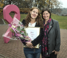 Årets Bröstsjuksköterska 2018 vågar fråga och inger hopp