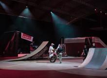 Fartfylld extremsport showar i Arenan