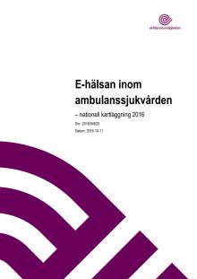 E-hälsan i ambulanssjukvården