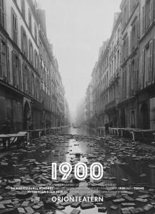 1900 släpper livealbum och återvänder till Orionteatern för fler audiovisuella föreställningar