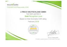 Lyreco Deutschland zählt zu den TOP 2% und ist einer der Spitzenreiter