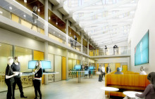 Veidekke bygger om och bygger till för Akademiska Hus i Stockholm