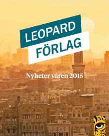 Leopard förlag vårens nyheter 2015