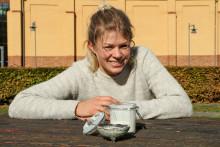 Hon skapar yoghurt från egen gårdskultur