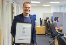 Grattis Daniel Carlsson! som åter belönas med Suverän Service