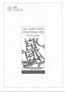 Rapport: Tall Ships Races i Stockholm 2000