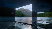 Nowy telewizor OLED Sony BRAVIA rozświetla intensywnym blaskiem tajemniczy, mroczny las