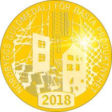 Dags att utse vinnaren av Nordbyggs guldmedalj 2018 – här är finalisterna!