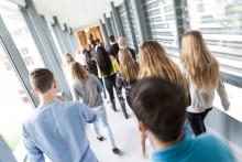 Lidköpings gymnasieelever är mycket nöjda med De la Gardiegymnasiet