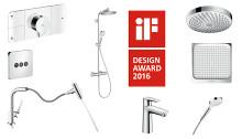Hansgrohe saavutti Top 10 -aseman kansainvälisellä iF Design Award Ranking-listalla