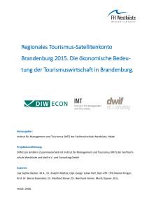 Studie Wirtschaftsfaktor Tourismus Brandenburg des