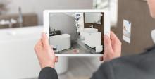 B2C: Lieblingsprodukte entdecken und interaktiv erleben –  Die Augmented Reality App von Villeroy & Boch hilft bei der Planung des neuen Bades