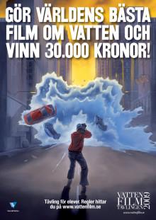 Vinnare i Svenskt Vattens filmtävling blev bidrag från Varberg, Göteborg, Örebro och Uddevalla