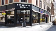 Starbucks åpner sin femte kaffebar i Oslo