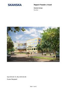 Rapport från Skanska, ingång 100 Akademiska sjukhuset
